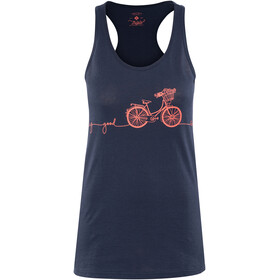 Triple2 Deel Bike Tank-Top Women Peacoat